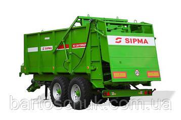 Розкидач органічних добрив SIPMA RO 1200 TORNADO , фото 2