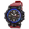 Часы Casio G-Shock GWG-1000 Black-Red Wristband