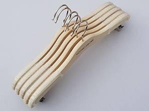 Плічка довжиною 33 см для білизни з прищіпками, колекція Women Secret колір натуральний, 5 шт в упаковці