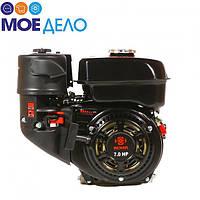 Двигатель бензиновый Weima WM170F-Q НОВИНКА 7.0 л.с. (шпонка, вал 19мм)