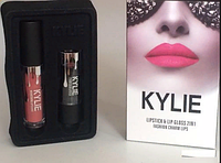 Набор помада + блеск Kylie Jenner Lipstick Lip Gloss 2 in 1