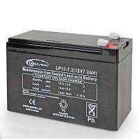 Аккумулятор свинцово-кислотный Gemix LP 12-7,5 (12V.7,5A)