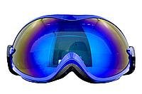 Маска (очки) горнолыжная  NICE FACE 077 (синий)