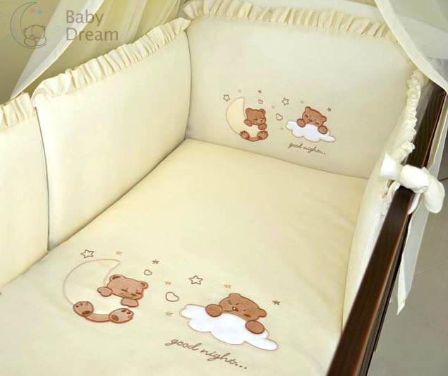 Комплект постельного белья Italy cotton Bears 6 пр