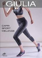 Спортивные капри из микрофибры CAPRI SPORT MELANGE 2