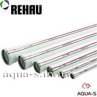 Труба для канализации Rehau Raupiano Plus DN 110x3000 мм. бесшумная ударостойкая (Германия)