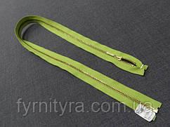 Металл YKK 70cm 875 салат 1 бег №3 золото