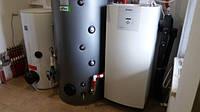 Грунтовой тепловой насос VAILLANT, потребление 2 кВт, отапливает 120 м2.