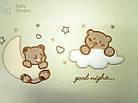 Комплект постельного белья Italy cotton Bears 6 пр, фото 2