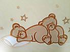 Комплект постельного белья Italy cotton Bears 6 пр, фото 3