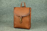 Компактный кожаный рюкзак Marchen XL | Италия Орех, фото 1