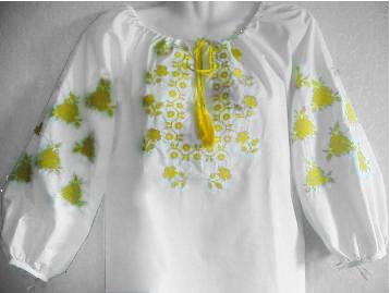 Жіноча вишиванка,льон, фото 2