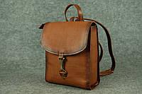 Кожаный рюкзак Marchen Mini | Италия Орех , фото 1