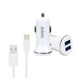Зарядний пристрій Inkax CD-13 micro USB White 1A