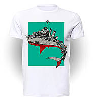 Футболка Geek Land Мир военных кораблей World of Warships Jan buragay WW.001.02