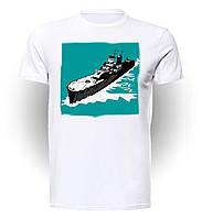 Футболка Geek Land Мир военных кораблей World of Warships Cruiser Retro WW.001.01