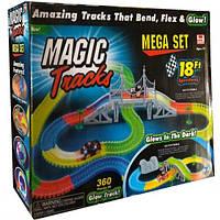Magic Track 5,5 м. Светящийся трек +2 машинки FYD170209-B, 360 дет.