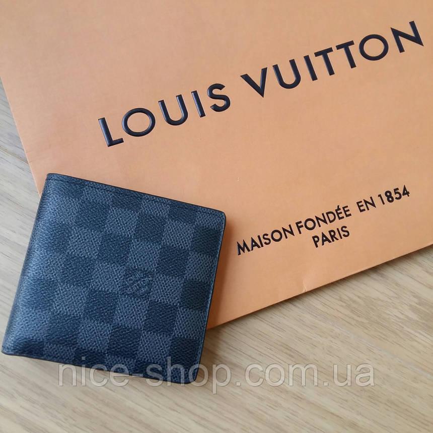 Кошелек Louis Vuitton серая клетка, фото 2