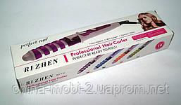 Спиральная плойка для волос RIZHEN RZ-118, голубой, фото 3