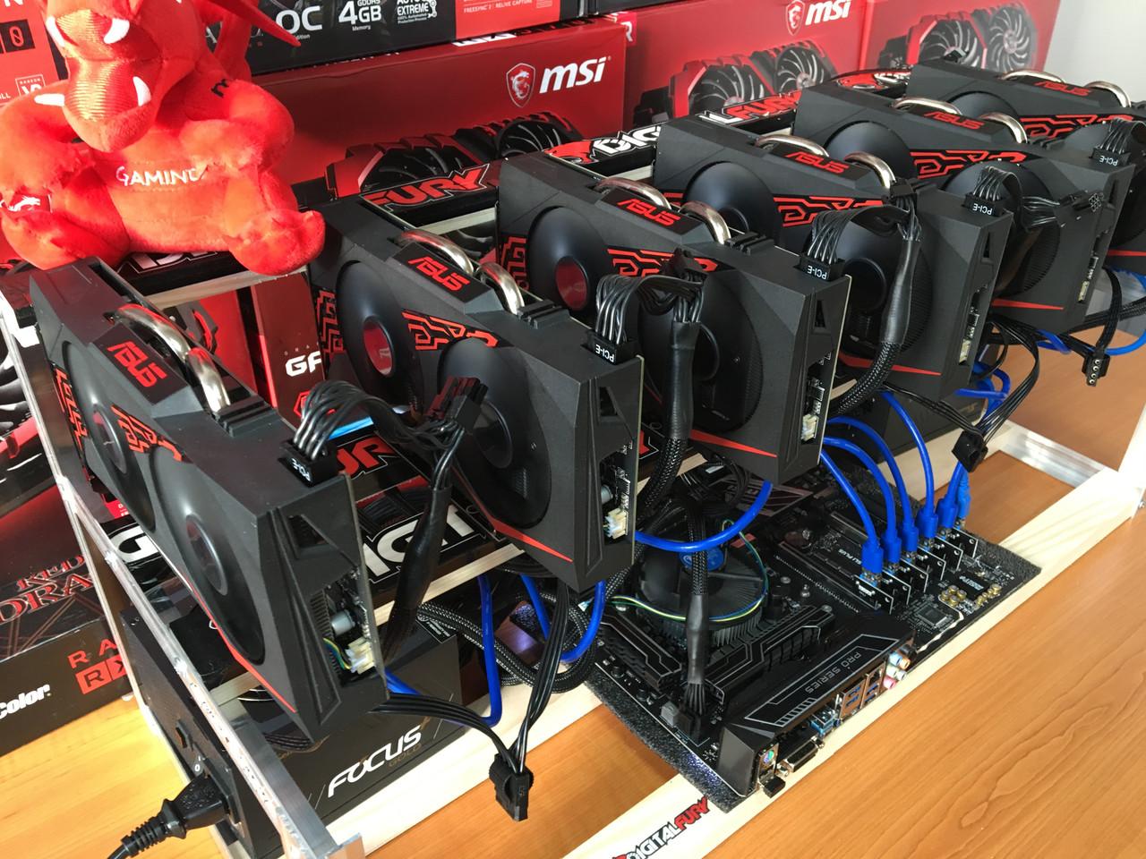 Майнинг ферма Pegasus XL 6xRX570 4GB - Системные блоки – интернет-магазин Регард: цены, отзывы, купить Системные блоки в Киеве и Украине в Киеве