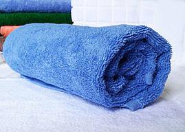 Полотенце 50х90 махровое голубое,Индия, фото 3
