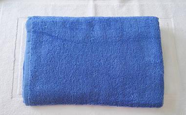 Полотенце 50х90 махровое голубое,Индия