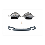 Диффузор заднего бампера BMW F01/F02 740, фото 2