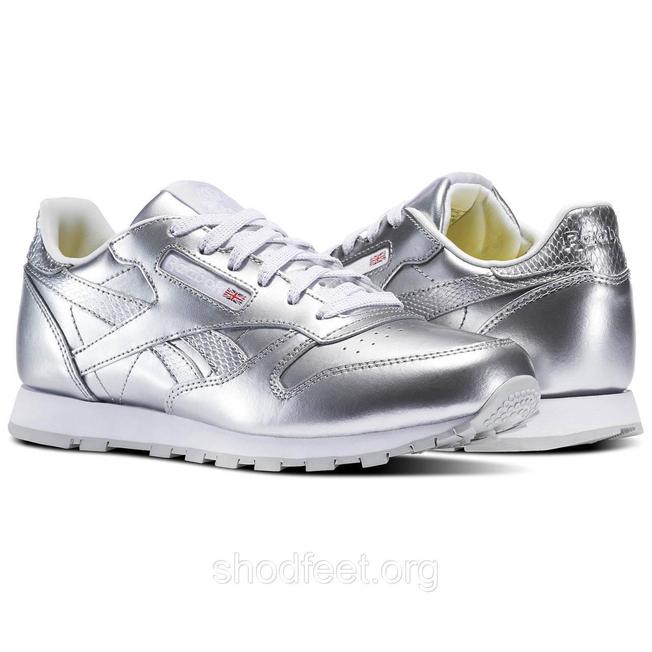 Жіночі кросівки Reebok Classic Leather Metallic BS8945