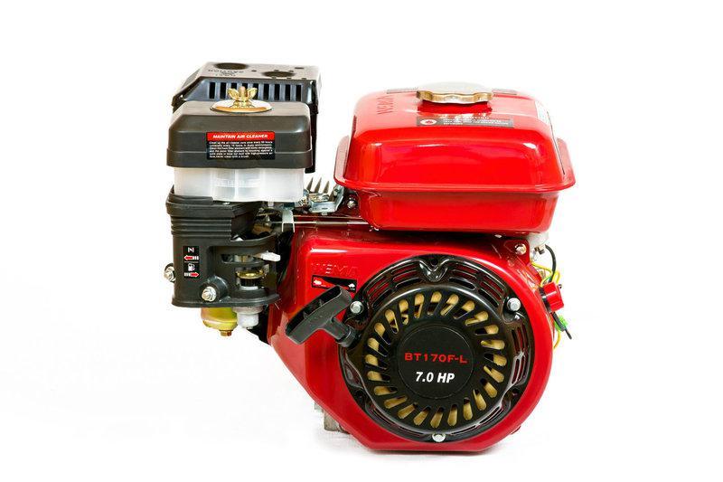 Двигатель бензиновый c редуктором WEIMA ВТ170F-L(R) (7 л.с.,вал 20мм, шпонка)