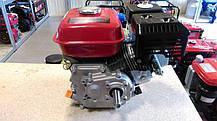 Двигатель бензиновый c редуктором WEIMA ВТ170F-L(R) (7 л.с.,вал 20мм, шпонка), фото 3