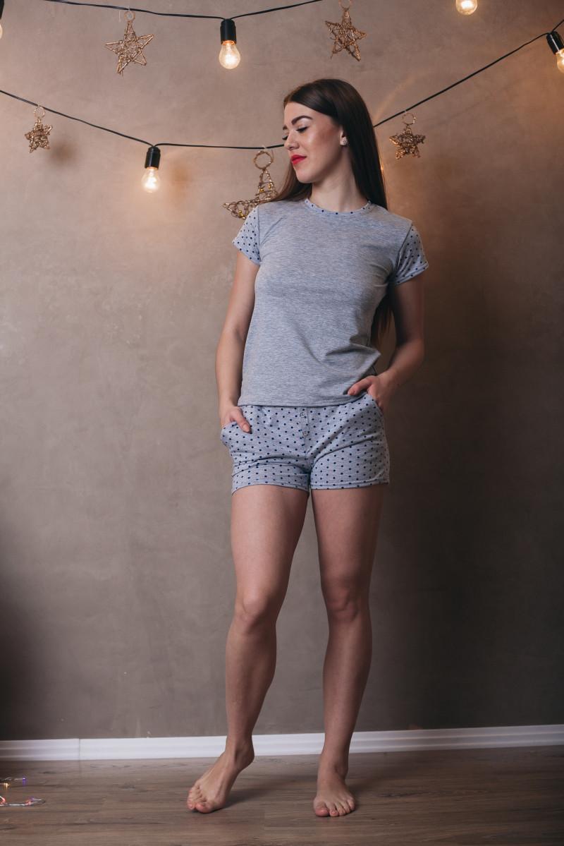 e8e641fa8d39 Удобный домашний комплект шорты+футболка