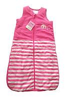 Детский спальный мешок Impidimpi, розовий 0-6 мес.
