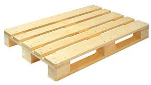 Поддон деревянный б/у 1 сорт светлый 1200*800 (до 2,5т)