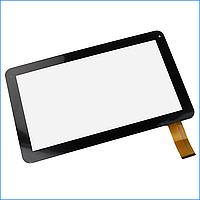 Тачскрин (сенсор) для Nomi (256*159) C10101 Terra, A10100 50 pin, цвет черный