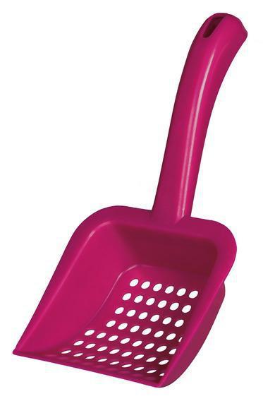 TRIXIE (Трикси) Совок для силикагелевого наполнителя для кошачьего туалета, цвет в асортименте