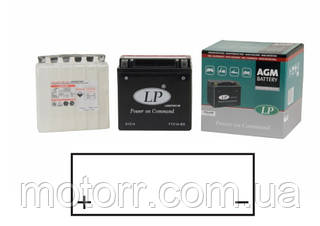 Мотоаккумулятор LANDPORT YTX14-BS