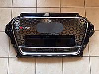 Решетка радиатора Audi A3 2012+ RS3