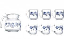 Чайный сервиз Luminarc Altese Blue 7пр N6224
