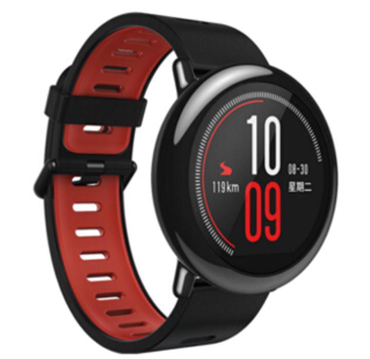 "Умные часы Xiaomi Amazfit Pace Black, 512Mb/4Gb, экран 1.34""Amoled, 2 ядра, 280mAh, IP68 Android (Smart Watch)"
