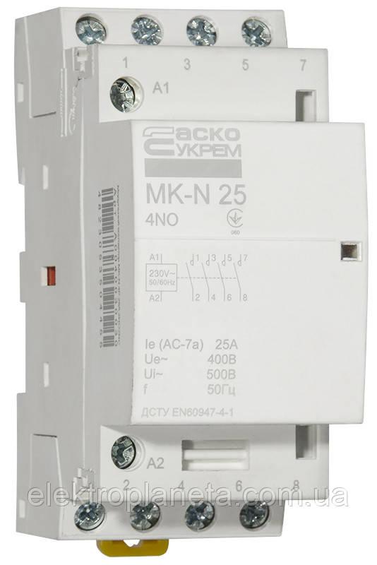 MK-N 4P  25A 4NO