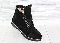 Ботинки. Натуральная замша  1672, фото 1