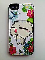 Силиконовый чехол Креатив iPhone SE/5S/5