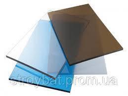Монолитный поликарбонат прозрачный 3 мм  Plexicarb
