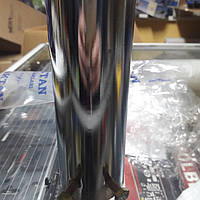 Насадка на глушитель, выхлопную трубу 50 мм ,Хром 503 со свитком