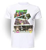 Футболка GeekLand Рик и Морти Rick And Morty комикс RM.01.003