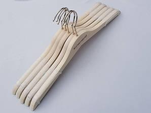 Плечики длиной 40 см вешалки деревянные коллекция Women Secret цвета натурального дерева, 5 шт в упаковке