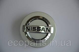 Колпачек колесного диска Nissan Leaf (серебристый)