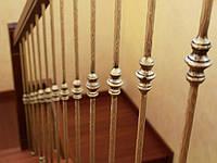 Перила кованые, лестничные, балконные ограждения