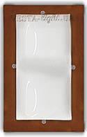 Светильник потолочный бук 2*60Вт Vesta Light 32012