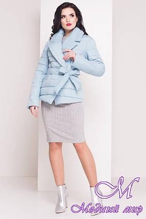 """Женская стеганая куртка весна-осень  (р. XS, S, M, L) арт. Мириам """"4483"""" - 21435, фото 2"""